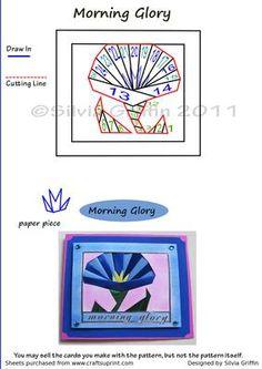 Morning Glory on Craftsuprint - Add To Basket!