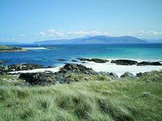 The Isle of Iona on a Beautiful Day - Scotland