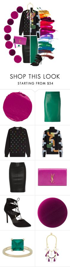 """Half + Half"" by cherieaustin ❤ liked on Polyvore featuring Charlotte Tilbury, Dsquared2, Boutique Moschino, Peter Pilotto, Joseph, Yves Saint Laurent, Topshop, Burberry, BaubleBar and NARS Cosmetics"
