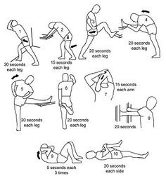 For those moments when you've sat, hunched over, at your desk too long. Stretches to relieve lower back pain.