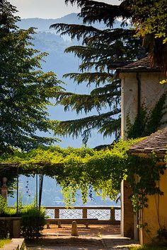 Shady Trees by the Lake - Sacro Monte of Orta San Giulio, Piedmont, Italy | Flickr - Photo Sharing!