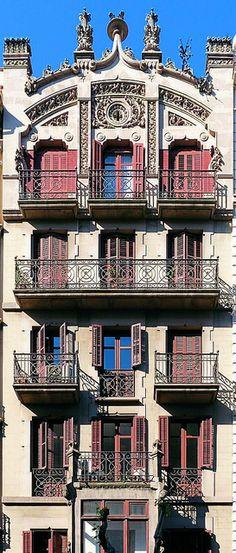 Barcelona -carrer  Roger de Llúria