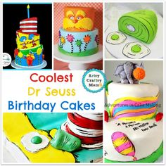 Coolest Dr Seuss Birthday Cakes
