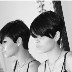 Love this cut!!! Can't wait for my hair to grow out some more