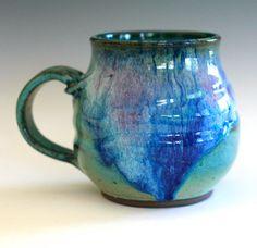 Large Coffee Mug 20 oz handmade ceramic cup ceramic by ocpottery