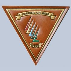 Buy Carrier Air Wing 5 Leather patch FlightJacket.com
