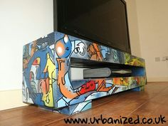 Check out this item in my Etsy shop https://www.etsy.com/de/listing/274122720/graffiti-solid-wood-tv-unit-chaosrangeChaos range coffee table from  http://www.urbanized.co.uk . #urban #urbanart #graffiti #graffitiart #streetart #furniture #interiordesign #bespoke #uk #bristol #abstract #abstractart #contemporary #tvstand #handmade #handpainted #wood #interiordesigners #interiordesigns #coffeetable #table #solid wood