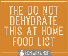 Have you ever wondered what foods you should or should not dehydrate? We've got you covered! Here's a practical list from Mom with a PREP. Fruit And Veg, Fruits And Veggies, Dehydrated Food, Dehydrated Vegetables, Dehydrated Strawberries, Dried Vegetables, Dehydrator Recipes, Freeze Drying, Canning Recipes