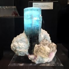 """429 Likes, 17 Comments - Gems & Minerals (@earthsnaturalart) on Instagram: """"And then there's this and you have a hard time seeing anything better! It is a Huge blue Tourmaline…"""""""