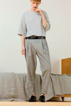 S/S 15 Design Direction: Men's Trousers & Shorts Key Items Christophe Lemaire spring/summer 2014