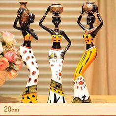 Gifts /& Decor Exotique Africaine Masques danimaux sculpt/é Plaque Murale D/écor