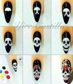 Nails catrinas