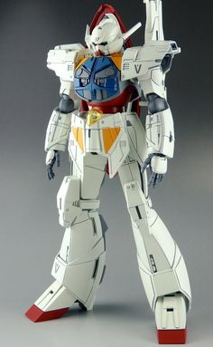 GUNDAM GUY: HG 1/144 Turn A Gundam Shin - Painted Build