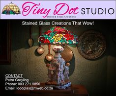 New Dimensions: Stained Glass Creations - Tiny Dot Studio Middle Ages, Art Forms, Stained Glass, About Me Blog, Dots, Studio, Home Decor, Stitches, Decoration Home