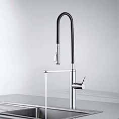 Glass Faucet? Anyone? | Glass Faucet | Pinterest | Faucets ... Badarmaturen Von Hansgrohe Axor Stark V Ist Perfektion Aus Glas