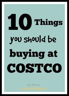 Costco bargain items that you need to buy