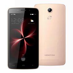 Original HOMTOM HT17 PRO Smartphone Android 6.0 MT6737 Quad Core 2GB RAM 16GB ROM 13MP 3000mAh Fingerprint Unlock 4G LTE Phone