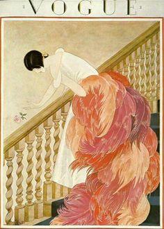 Vogue Cover november 1924 via www.fashionelephant.com