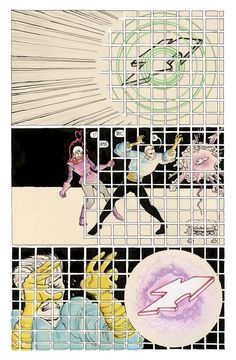 Sequence from Copra #2 by Michel Fiffe