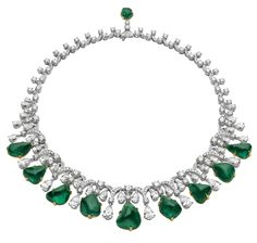 Bulgari Emerald Necklace