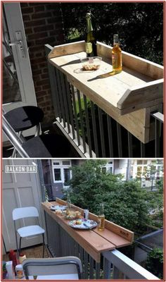 20 Insanely cool DIY garden and patio furniture - Home Design Inspiration - Einr. 20 Insanely cool DIY garden and patio furniture - Home Design Insp Outdoor Decor, Deck Decorating, Diy Yard, Craft Table Diy, Diy Outdoor Furniture, Furniture Projects, Diy Outdoor, Diy Garden Furniture, Small Outdoor Spaces