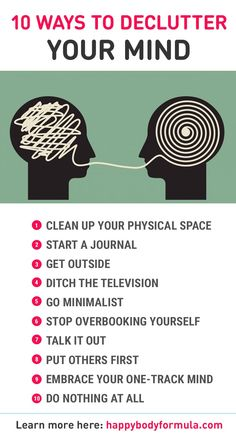 10 Ways To Declutter Your Mind - Do you ever feel overwhelmed, stressed and unable to focus or make decisions. Chances are your mind is too cluttered. Here are 10 simple ways to clear up your mind and find your inner zen. health_tips, motivation, Declutter Your Mind, Mindfulness Meditation, Mindfulness Quotes, Meditation Music, Mindfulness Benefits, Reiki Meditation, Mindfulness Activities, Inspiration Quotes, Parapsychology