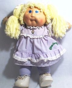 Cabbage Patch Kids Blonde Pigtails Girl
