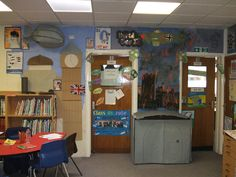 A super World War 2 classroom display photo contribution. Great ideas for your classroom! Year 2 Classroom, Classroom Themes, Classroom Behaviour, Library Displays, Classroom Displays, World War 2 Display, World History Classroom, Ancient World History, Role Play Areas