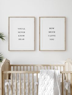 You'll never know dear Nursery print girl Modern nursery | Etsy