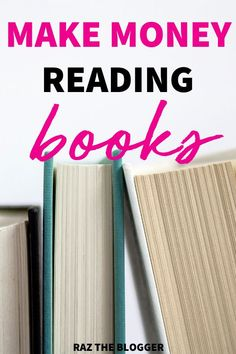 Do you love reading? Use these websites to get paid to read books. This is a great way of making extra money from home from your hobby Earn More Money, Make Money Blogging, Money Tips, Make Money Online, Saving Money, Saving Tips, Work From Home Jobs, Make Money From Home, Way To Make Money