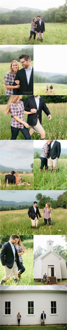 Engagement Photos in Cades Cove   Ideas for Outdoor Photo Session   Sarah C. Photography   Voted Knoxville's Best Photographer   Family, Senior and Wedding Photography