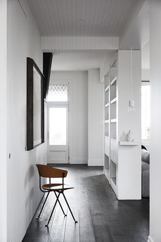 Studio Tate have completed a stunning renovation and restoration of a historic Tudor-style beach house in the Australian coastal town of Mount Martha. While retaining the hilltop home's heritage detai Entryway Stairs, Entry Hallway, Gable House, Melbourne House, Vogue Living, Tudor Style, Green Gables, House Tours, Interior Architecture