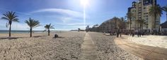 El fin de semana nos ha dejado imágenes como ésta en la playa de San Juan Enero 2016 #Alicante #CostaBlanca