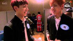 [BANGTAN BOMB] BTS Cypher ver. Jung Kook & V ; asdfghjklasfkljdgirion Yoongi-oppaaaaa~ your rapping<3