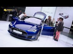 2016 Tesla Model S P90D - Exterior and Interior Walkaround - 2015 Frankfurt Motor Show - YouTube