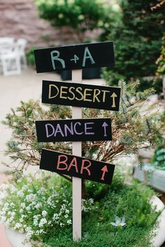 Direct your guests with a DIY wooden sign. | A Timeless and Traditional Mansion Wedding