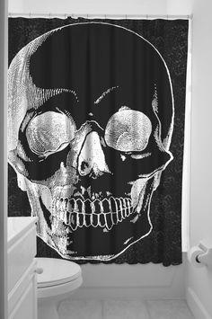Anatomical Skull Curtain