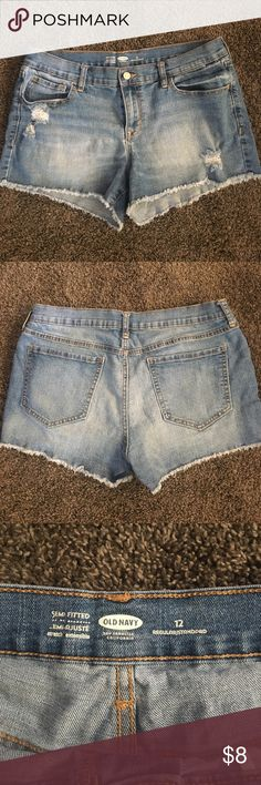 Old Navy Jean Shorts size 12 Excellent condition! Old Navy Shorts Jean Shorts