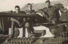 Regimiento de Caballería Dragones de Santiago 1, 4º escuadrón. Alcalá de Henares (Madrid), 1957.