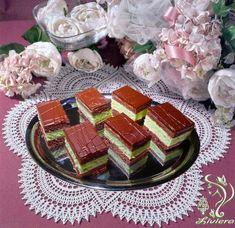 Čokoládovo-pepermintové rezy, recept, Zákusky | Tortyodmamy.sk