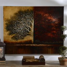 You can really wow your guests with this special Tree of Life Canvas Art! Today ONLY, this piece is $159.00, compared to regular price $189.99. Valid on 7/24 only.