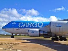 PHCKA KLM Cargo @ TJBQ