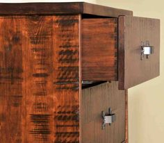Wormy Maple Cabinets - Home Furniture Design Oak Stain, Maple Cabinets, Craftsman, Home Furniture, Door Handles, Wide Dresser, Punk Bedroom, Bedroom Suite, Maple Hardwood