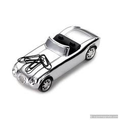 Road Star Mechanical Paperweight & Paperclip Holder by Troika of Germany
