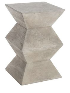 traditional side tables and accent tables by Wisteria-concrete.