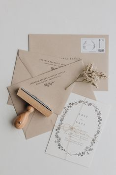 Wedding Paper, Wedding Cards, Diy Wedding, Dream Wedding, Fun Wedding Invitations, Wedding Stationary, Envelope Design, Floral Illustrations, Invitation Design