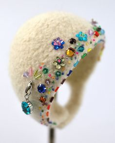 LOVE the beaded detail... on my to do list!