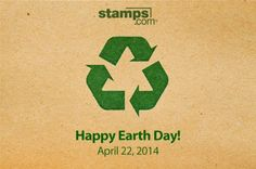 Online Postage, Buy Stamps, Happy Earth, Prints