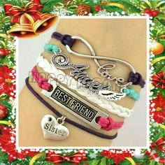*NEW SUSTER INFINITY BRACELET A great gift for the holiday for that special sister. Jewelry Bracelets