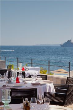 Gourmet Restaurant Les Pêcheurs - Cap d'Antibes Beach Hotel***** Relais & Châteaux, French Riviera.  You can have lunch here without staying overnight!